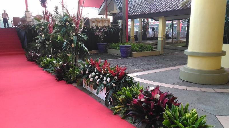 Dekorasi HUT RI DPRD Kabupaten Tangerang